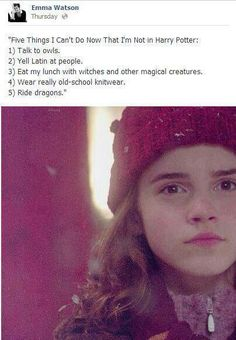Emma Watson.. I love you.