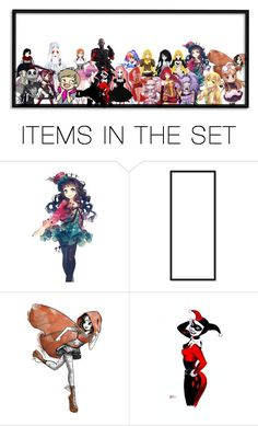 """""""meh"""" by marythedemon ❤ liked on Polyvore featuring art"""