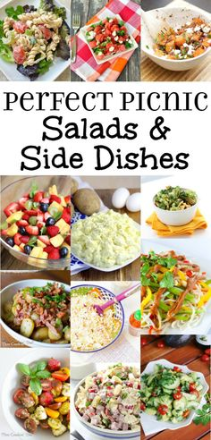 Picnic Side Dishes, Side Dishes For Bbq, Potluck Dishes, Side Dishes With Hamburgers, Dishes Recipes, Side Dish Recipes, Food Dishes, Cooking Recipes, Potato Recipes