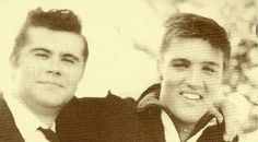 Warren Smith, Elvis Presley, Memphis, TN - Sunday, September 23, 1956  Warren performed at the Fairgrounds on Sat. Sept. 29 - 9-29 (Sat) Carl Perkins Johnny Mack Brown Smiley Burnette Warren Smith Eddie Bond and the Stompers