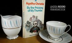 A cup of tea and some murder? Classic Agatha Christie. Vintage book for sale in our online shop.
