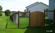california chain link fence | View examples of Chain Link Gates installed in Twin Cities yards.