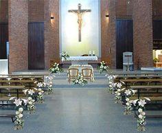 Church Wedding Decoration With Floral Art Theme (3)