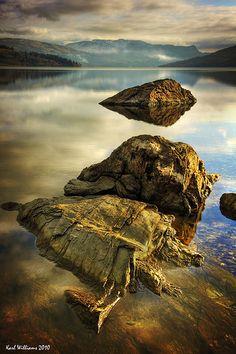 Loch Katrine, Trossachs, Scotland.