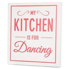 Kitchen Dancing Art Panel