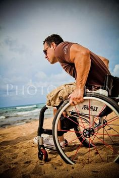 """""""Changing mindsets and asking for inclusion is not an easy task, nor a quickly achieved one as we are finding out. Showing people the value of using """"Inclusive Images"""" is not an easy road, more like pushing a wheelchair through the sand!"""" Image by Tiffany Mather for Photoability.net"""