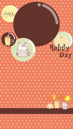 ↑↑TAP AND GET THE FREE APP! Lockscreens Art Creative Cats Grid Fun Chocolate Happy Birthday HD iPhone 5 Lock Screen