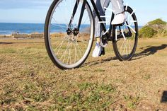 Fancy! New Zealand design blog takes her Commando-M's for a ride on her bike