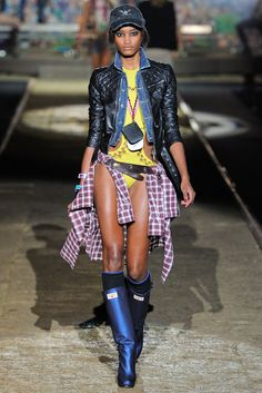 Dsquared2 Spring 2012 Ready-to-Wear Fashion Show - Melodie Monrose