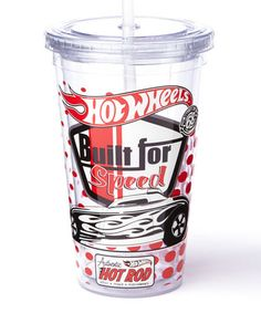 Loving this Clear Hot Wheels Cold Cup on #zulily! #zulilyfinds