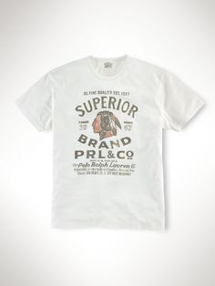 Classic-Fit Antiqued T-Shirt - Tees  Sweatshirts & T-Shirts - RalphLauren.com