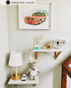 """13 Me gusta, 1 comentarios - Erika Brandner (@ekadeko) en Instagram: """"Feliz de como se ve mi ilustración de un BMW M3 rojo (mi color favorito) As usual realizada en vivo…"""""""