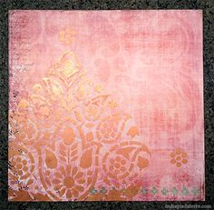 Deb from India pied-à-terre used our Indian Paisley Damask Stencil to help make a small stenciled art canvas that is absolutely lovely! http://indiapiedaterre.com/2013/03/23/diy-scrapbook-paper-and-stencil-art-square/