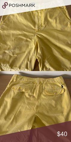 2b7e6131da Polo Ralph Lauren Yellow Shorts Men. SIZE 29. Polo Ralph Lauren Yellow Shorts  Men