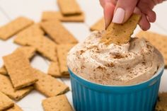 Cinnamon Roll Cheesecake Dip Is Your Brunch Fantasy Come True  - Delish.com