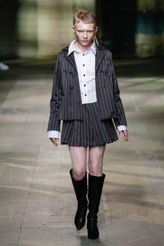 New Mens Fashion, Runway Fashion, Fashion Show, Guys In Skirts, Men Wearing Skirts, Men In Heels, Man Skirt, Tennis Skirts, Androgynous Fashion
