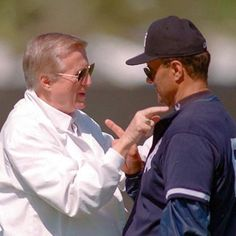 The Boss and Joe Torre