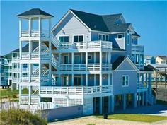 "Families looking for luxury living while vacationing at the beach will fall in love with ""Rodanthe Paradise"". Enjoy cool Hatteras nights in this ..."