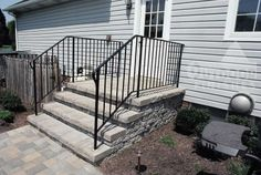 wrought iron railings | wrought iron railings | Exteriors