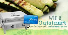 Kick off summer on a high note by winning a Cuisinart Professional Portable Gas Grill + a $550 gift card to Walmart where you can pick up Earth Balance® MindfulMayo™ Dressing and Sandwich Spread and Earth Balance® Original Buttery Spread.