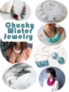 7 Chunky Handmade Jewelry Designs for Winter