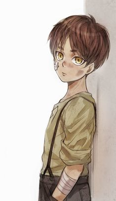 Baby Eren looking shoooooooo cute