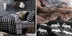 flannel bedding moose - Google Search