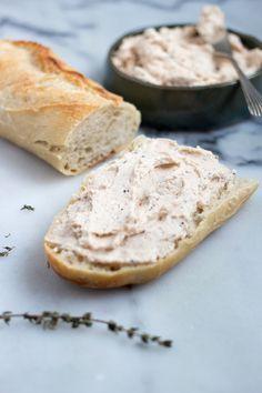 Pasta łososiowa do kanapek Ham, Bread, Cheese, Hams, Brot, Baking, Breads, Buns