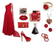 """Untitled #161"" by missvolturi2 on Polyvore featuring Jovani, Dolce&Gabbana, Zoya, NEST Jewelry, Kate Spade and Ann Taylor"