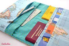 Reisepass, Impfass, Bordkarte