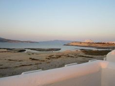 Milos sunset view