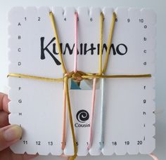The Beading Gem's Journal: How to Make a Square Plate Kumihimo Bracelet with Button Closure