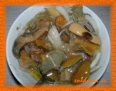Соленые грибы на зиму в банке - рецепт с фото