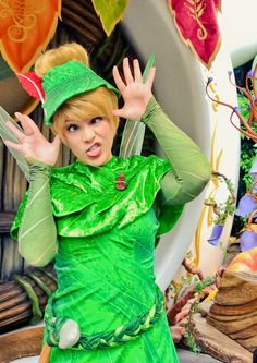 Silly Tink! Reminds me of a silly girl I know