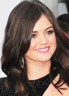 Lucy Hale in Makeup for Fair Skin, Brown Hair, and Green Eyes- had no clue that green eyes were one of rarest eye colors!1?