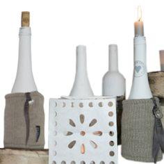 Gebreide hoes om wijnfles (knitting / breien) Shades Of Green, Diy, Color, Dutch, Home Decor, Crisp, Kitchen, Accessories, Decoration Home