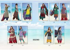 Catalog Name : SS2360    Designs : 10 MOQ : Full Catalog