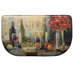 Bacova Guild Afternoon Delight Memory Foam Slice Kitchen Mat