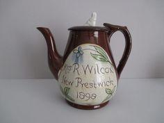 Cumnock teapot, bought at Christie Antique Show, Ontario, Canada
