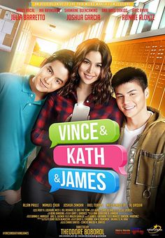Like or Dislike: 'Vince & Kath & James' Movie Poster Streaming Movies, Hd Movies, Movie Tv, Movies Free, Hd Streaming, Series Movies, Manila, James Movie, Joshua Garcia