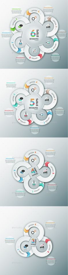 Modern Infographic Options AI, EPS Template (4 Items) #design Download: http://graphicriver.net/item/modern-infographic-options-template-4-items/8939588?ref=ksioks