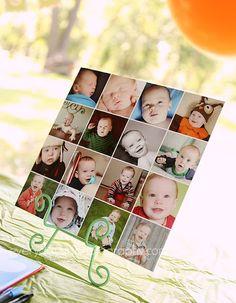 Birthday Boy Collage