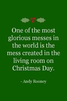 Day 21 - We couldn't agree with this statement more. Christmas morning is one of the best times of the year!