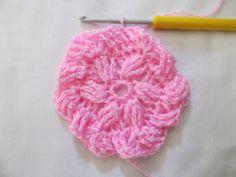 Crochet with love - Hand made Ája: ZIG ZAG čepička Zig Zag, Crochet Patterns, Floral, Flowers, Handmade, Bugle Beads, Caps Hats, Dots, Hand Made