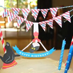 Free printables for a circus themed party