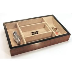 Oliver Brown Elm Burl Valet Box, only $109.50 plus free shipping!