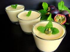 Alquimia dos Tachos: Mousse de Maracujá light(iogurte natural, iogurte grego, polpa de maracuja, gelatina, claras)