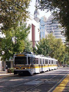 Light rail - Sacramento, California