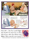 Two 1930s magazine Ads w/PDs-Cutex + Ivory