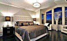 Черный пол в интерьере квартиры